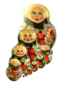 10FМ194 Doll (10-1) Flowers Assorted